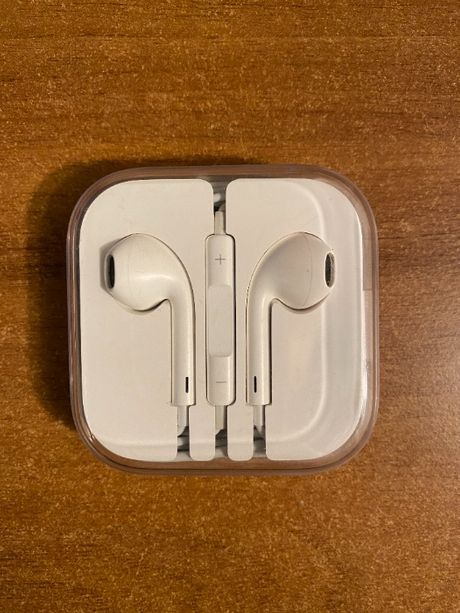 Słuchawki Apple Earpods lightling, jak nowe