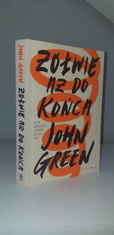 "Książka ""Żółwie aż do końca"" John Green"