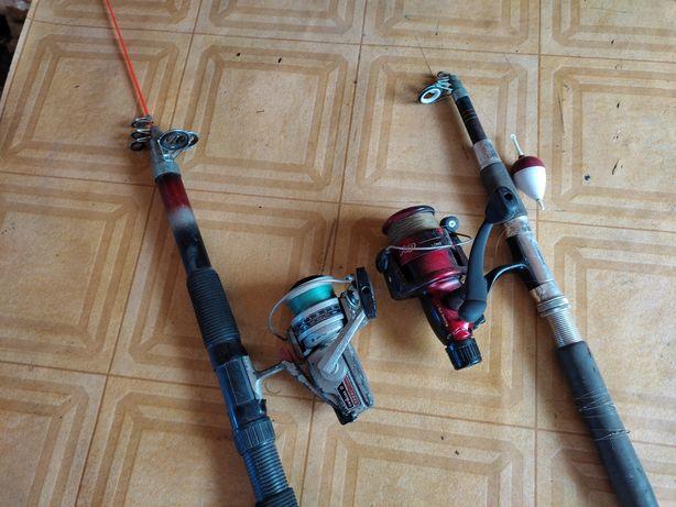 Canas de pesca (10€ cada uma)