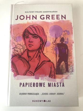 ",,Papierowe miasta"" John Green"