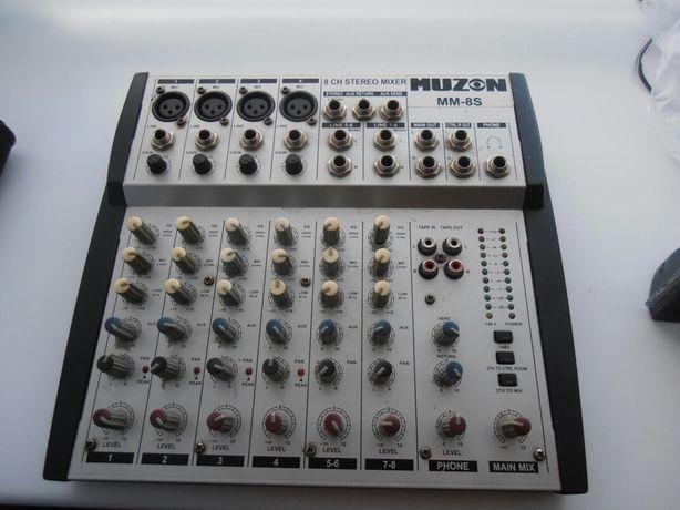 Пульт микшерный MUZON MM-8S