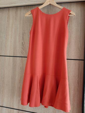 Sukienka z falbaną  Mohito r.36