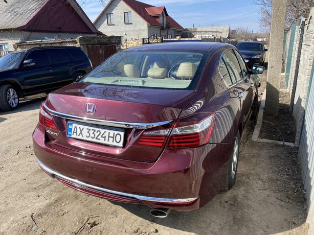 Honda accord 2016 после дтп