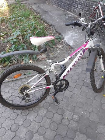 Велосипед горный многоскоростной