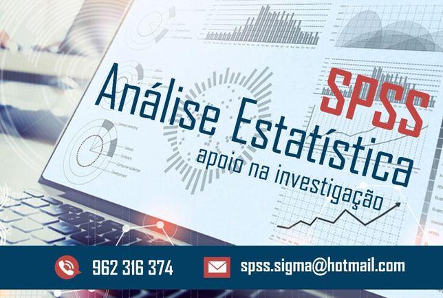 Análise estatística de dados para Teses de Mestrado e trabalhos: SPSS