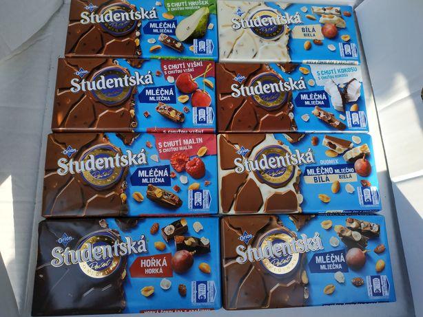 Шоколад Studentska (студентська) студенческая
