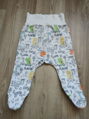 Штанишки штаны ползунки Бемби на байке с высокой резинкой
