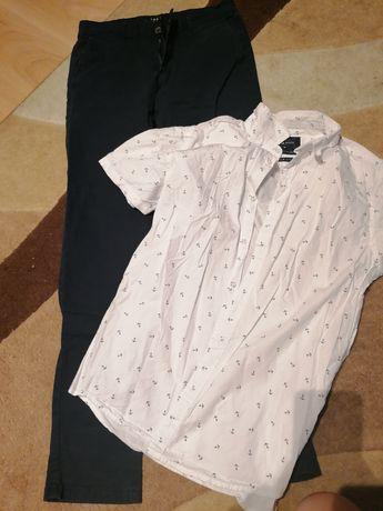Koszula i spodnie wizytowe new yorker, house
