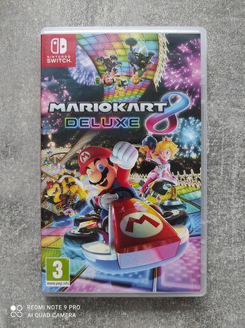 Mariokart Deluxe Nintendo switch