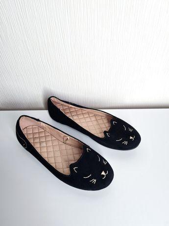Балетки лоферы  туфли Next (как Zara)