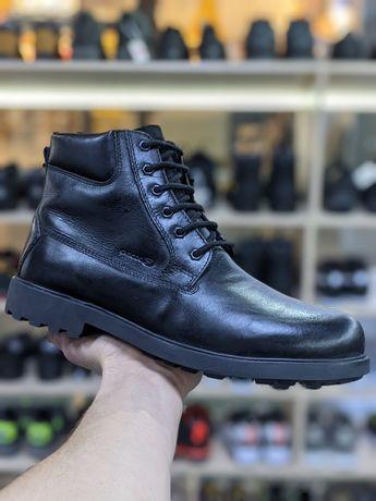 Ботинки зимние кожаные Geox ecco 41,43,44,45,46 размера Оригинал