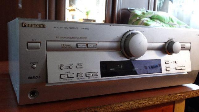 Panasonic SA-HE7 и Kenwood KRF-V6010
