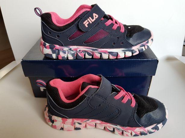 Buty rozm. 30 buciki dla dziewczynki Fila sportowe