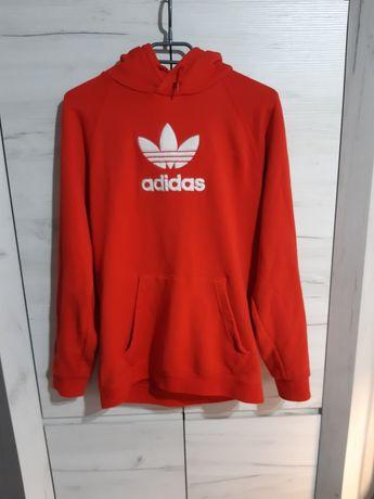 Bluza czerwona Adidas