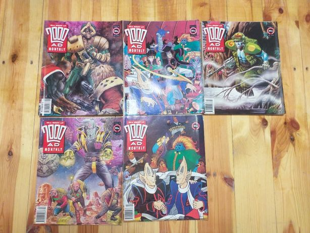 The Best of 2000AD Monthly 5 numerów 93