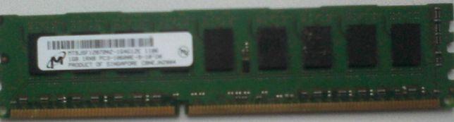 Оперативная память Micron 1 GB DDR-3 1333