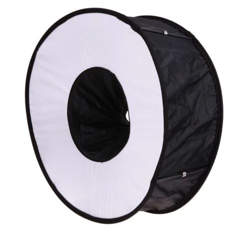 softbox pierścieniowy okrągły na lampę błyskową 44cm