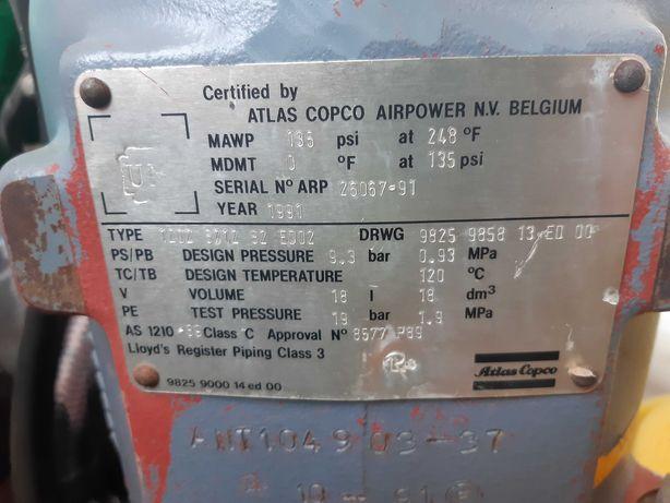 Śruba kompresora sprężarka kompresor atlas copco brinkmann putzmeister
