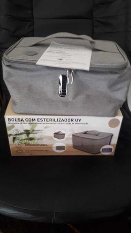 Bolsa/caixa de esterilização UV com LEDs