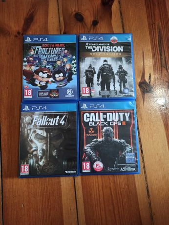 Gry PS4 South Park, CoD BO3, The Division