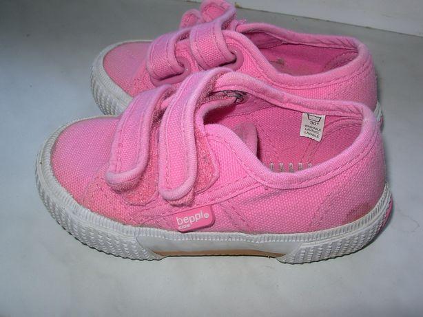 Trampki tenisówki 13,5cm rozmiar 23 BEPPI dziewczęce buty buciki