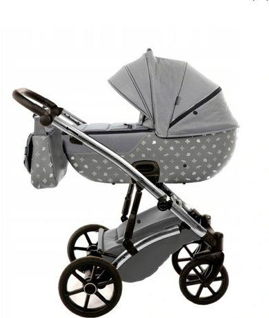 Wózek Tako Laret Imperial 2w1 kolor 03 szaro srebrny