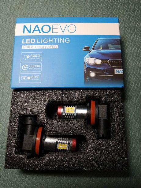 Автомобильный H8 H11 светодиодный комплект LED ламп