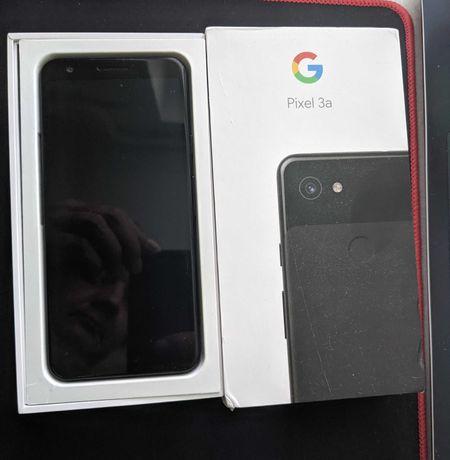 Google Pixel 3a black (комплект с наушниками) е-sim