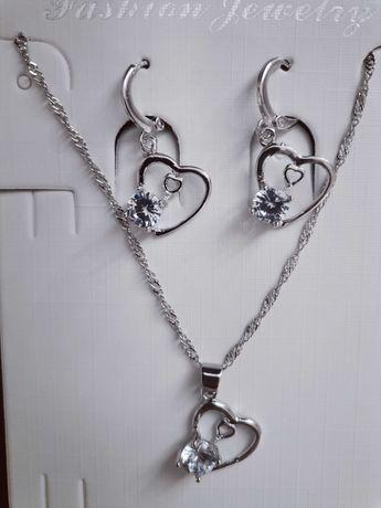 Nowy komplet biżuterii