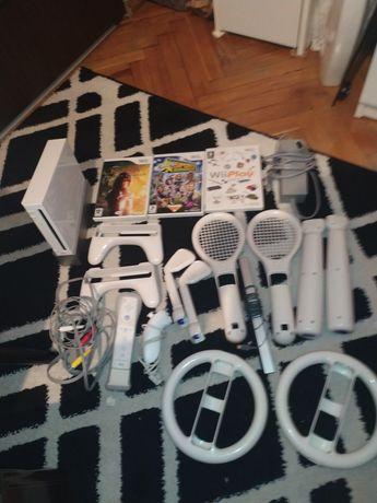 Konsola Nintendo Wii cały zestaw. Stan idealny Rvl-001