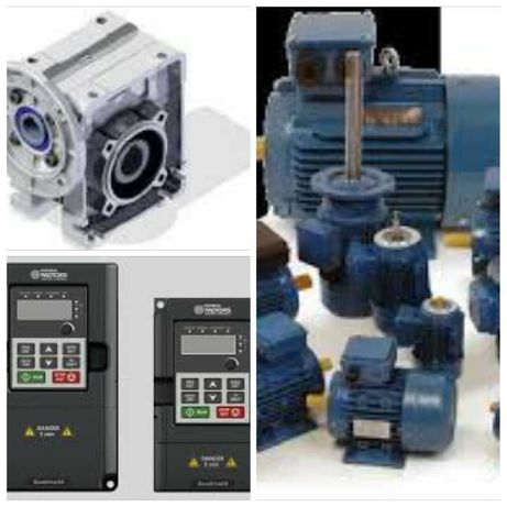 Comercio de motores variadores frequência quadros eléctricos