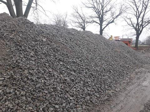 tłuczeń kruszywo betonowe gruz betonowy betonowo ceglany Dobrcz