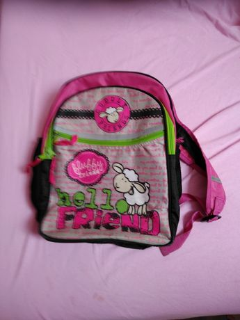 Plecak szkolny z owieczką