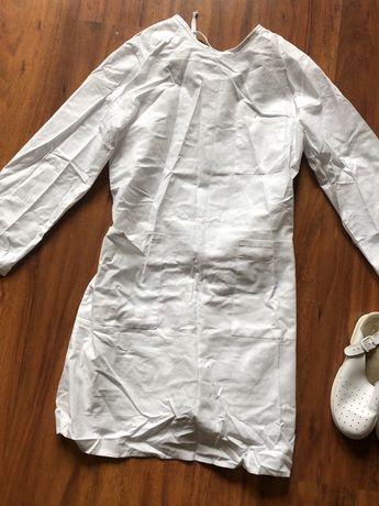Sprzedam ubranie medyczne spódnica fartuch buty zestaw medyczny