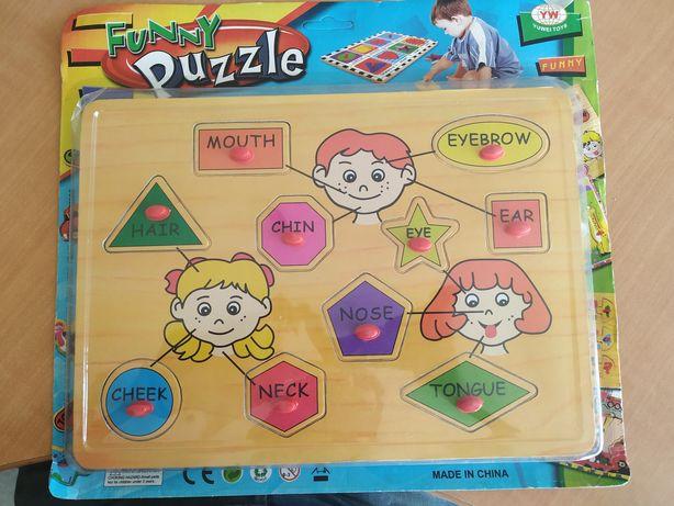 Funny Puzzle aprender inglês