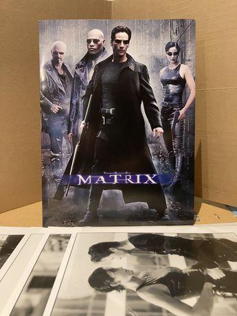Matrix - zdjęcia promocyjne x4 kadry filmowe