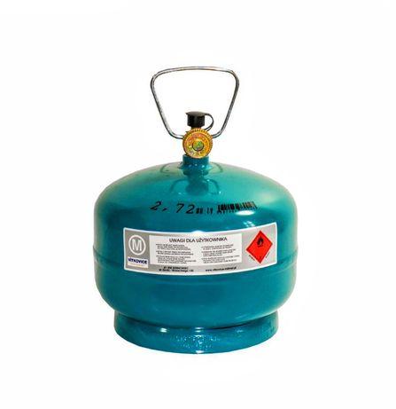 butla gazowa 2kg napełniona gazem Nowa!