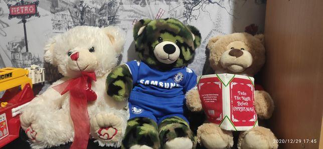 Игрушки мягкие  говорящие Samsung мишки медведи