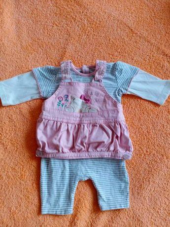 Боди-комбинезон для девочки, новорождённой, 1-2-3 месяца