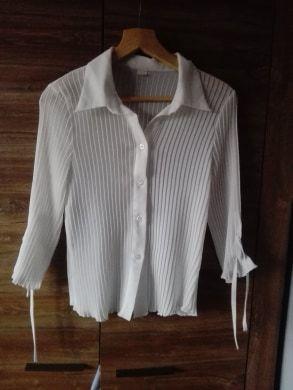 Biała koszula r. XL
