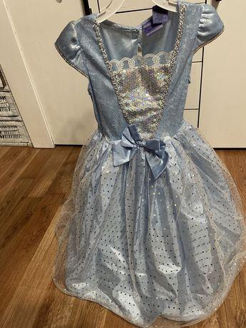 Sukienka księżniczki , strój na bal , kopciuszek