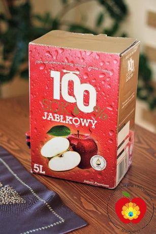 Sok jabłkowy 100% 5l NFC z certyfikatem IPO świeże !!!