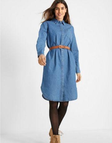 Платье рубашка джинсовая Ostin.