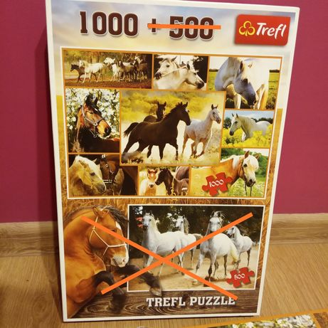 Puzzle 1000 kompletne