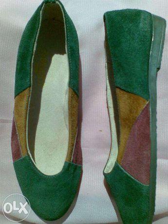 туфли замшевые размер 37 (23,5)