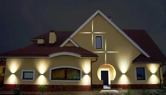 Архітектурний фасадний світильник LED