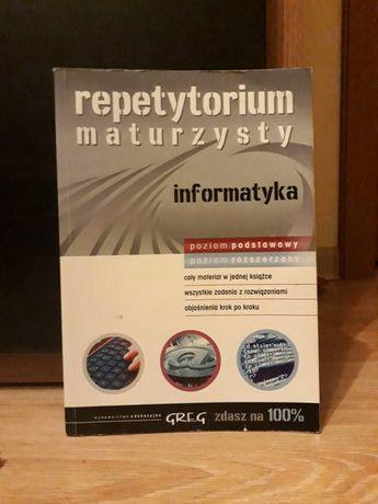 Repetytorium maturzysty informatyka poziom podstawowy i rozszerzony