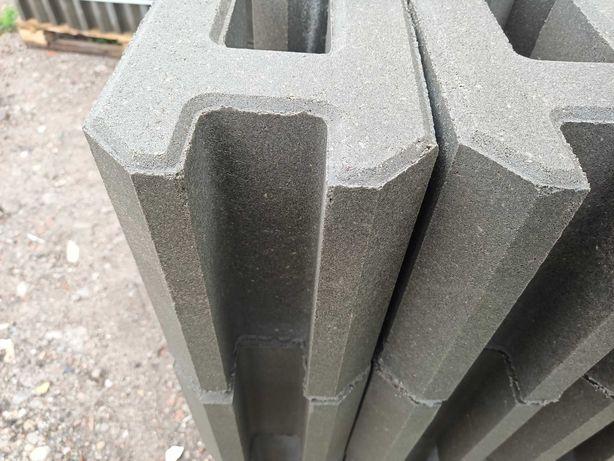 Łącznik betonowy do podmurówki betonowej