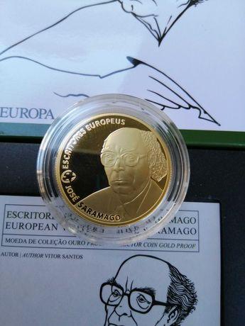 Moedas de ouro de 2,50 e 5,00 euros