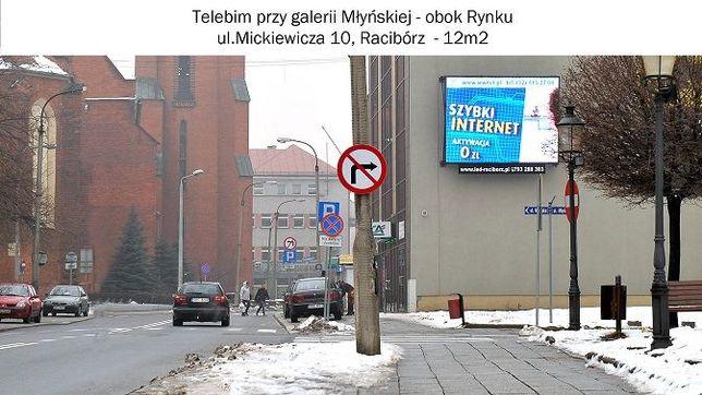 SUPER OKAZJA Telebim LED 12m2 wraz z konstrukcją